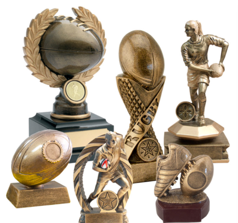 NZ Rugby trophies