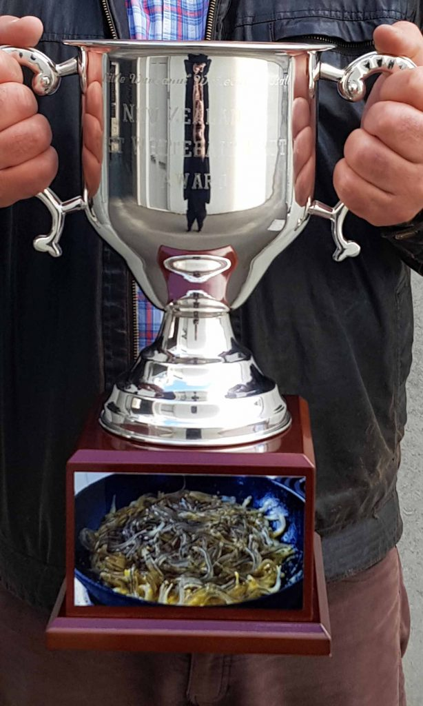 Little Wanganui Whitebaiters Cup Ball Trophy Only