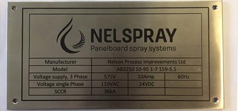 NelSpray sign small