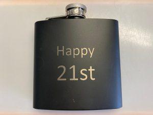 21st hip flask