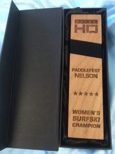 special award wood engraving